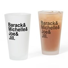 White House Roll Call Pint Glass