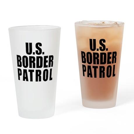 U.S. Border Patrol Pint Glass
