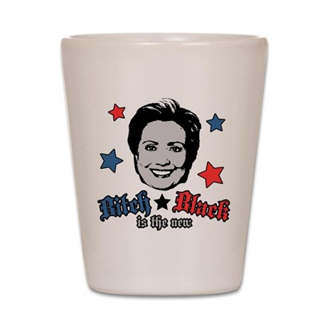 Bitch is the New Black Shot Glass