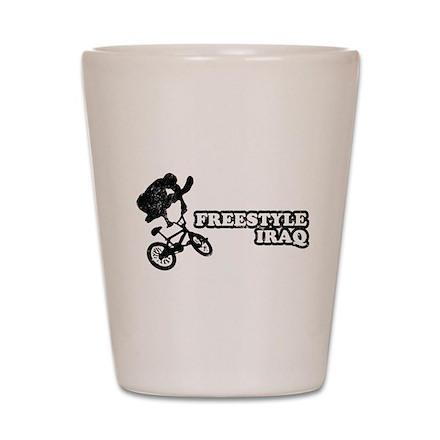 Freestyle Iraq Shot Glass