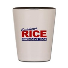 Condoleezza Rice 2008 Shot Glass