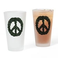 Peace Wreath Pint Glass
