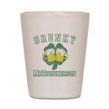 Drunky McDrunkerson Shot Glass