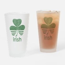 Vintage Irish Logo Pint Glass
