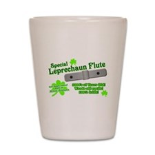 Special Leprechaun Flute Shot Glass