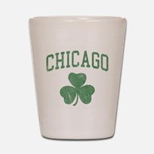 Chicago Irish Shot Glass