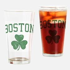 Boston Irish Pint Glass