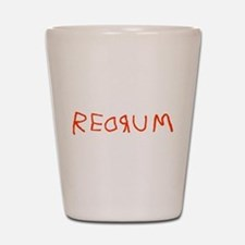 Redrum Shot Glass