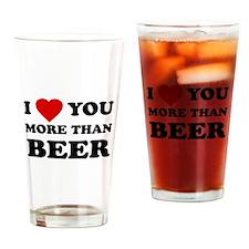 I Love [Heart] You More Than Pint Glass