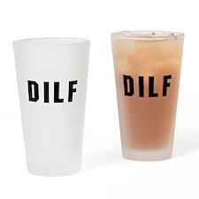DILF Pint Glass