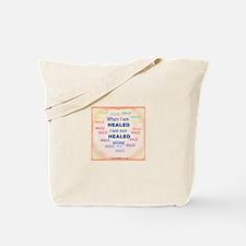 ACIM-I Am Not Healed Alone Tote Bag