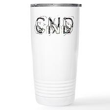 CND letters Travel Mug