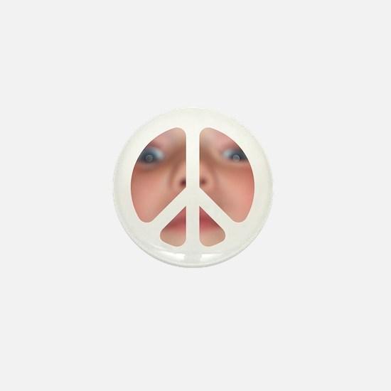 cnd face Mini Button