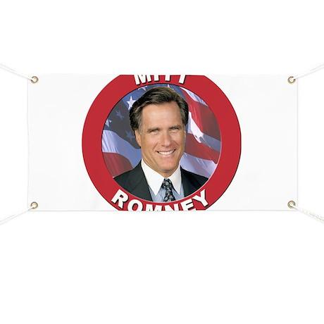 Mitt Romney Banner