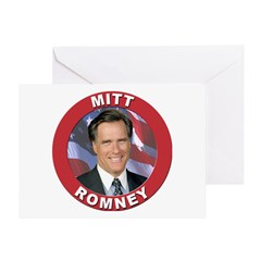 Mitt Romney Greeting Card