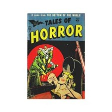 Tales Of Horror Rectangle Magnet