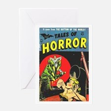 Tales Of Horror Greeting Card