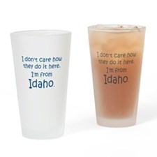 From Idaho Drinking Glass