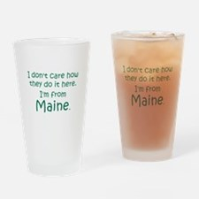 From Maine Drinking Glass