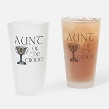 Celtic Aunt of Groom Pint Glass