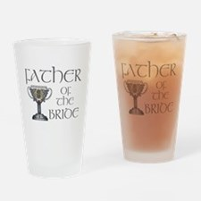 Celtic Father Bride Pint Glass