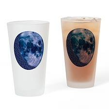 Celtic Knotwork Blue Moon Pint Glass