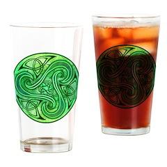 Celtic Triskele Pint Glass