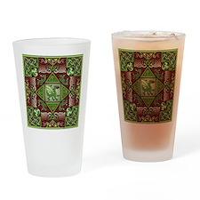 Celtic Dragon Labyrinth Pint Glass
