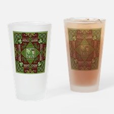 Celtic Dragon Labyrinth Pint Glass