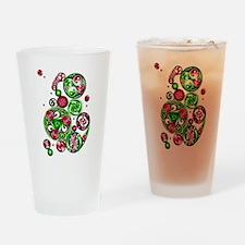 Christmas Celtic Spirals Pint Glass