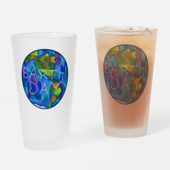 Earth Day Planet Pint Glass