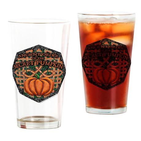 Secret Pumpkin Pint Glass