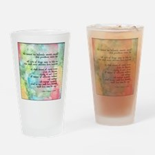 Inspirational Goethe Quote Pint Glass