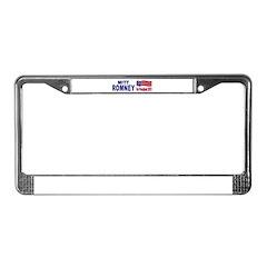 Mitt Romney for President License Plate Frame