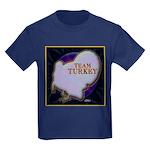 Team Turkey Kids Dark T-Shirt