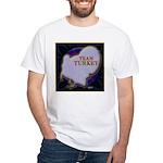 Team Turkey White T-Shirt