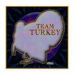 Team Turkey Tile Coaster