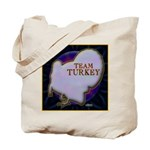 Team Turkey Tote Bag
