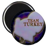 "Team Turkey 2.25"" Magnet (100 pack)"