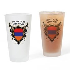 Proud to be Armenian Pint Glass