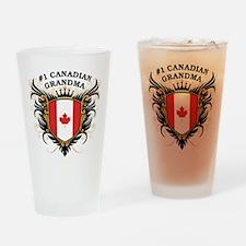 Number One Canadian Grandma Pint Glass