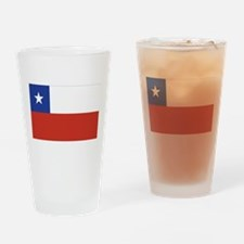 Flag of Chile Pint Glass