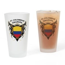 Number One Colombian Grandpa Pint Glass