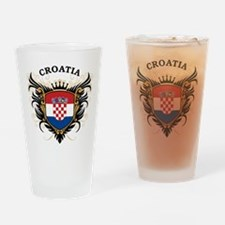 Croatia Drinking Glass
