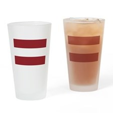 Flag of Latvia Pint Glass
