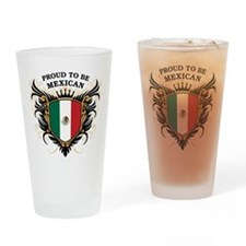 Proud to be Mexican Pint Glass