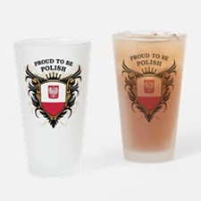 Proud to be Polish Pint Glass