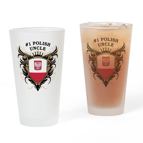 Number One Polish Uncle Pint Glass