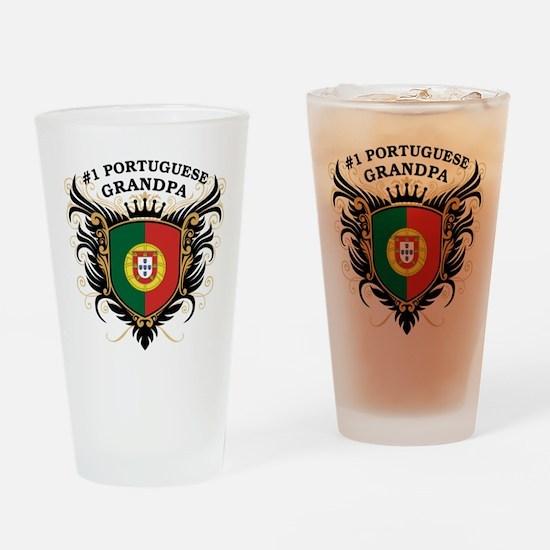 Number One Portuguese Grandpa Pint Glass