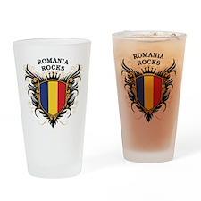 Romania Rocks Pint Glass